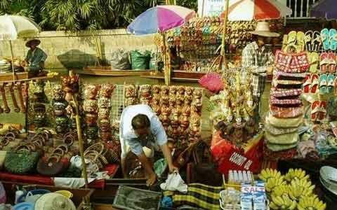 Некоторые широко известные рынки в Тайланде